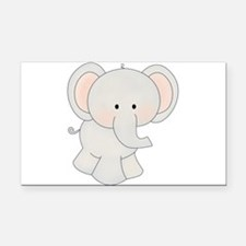 tt-elephant.png Rectangle Car Magnet