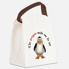 penguinmademe.png Canvas Lunch Bag