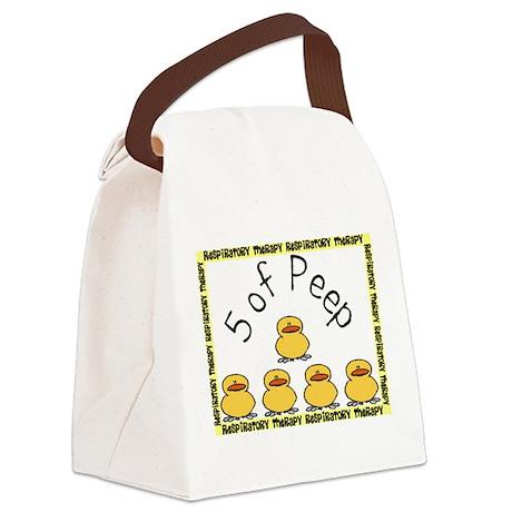 5 of peep RT 2012.JPG Canvas Lunch Bag