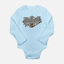 Football Respect Long Sleeve Infant Bodysuit
