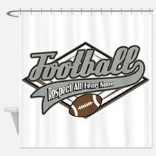 Football Respect Shower Curtain