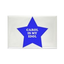 Carol Is My Idol Rectangle Magnet