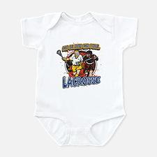 No Blood, No Foul Lacrosse Infant Bodysuit
