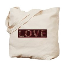 What is love made of? Tote Bag