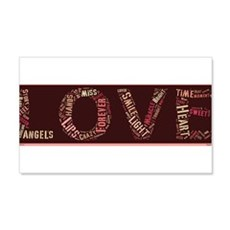 What is love made of? Wall Decal