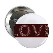 "What is love made of? 2.25"" Button"