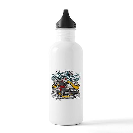 Go Kart Winner Stainless Water Bottle 1.0L