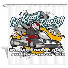 Go Kart Winner Shower Curtain
