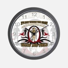 Track and Field Start Wall Clock
