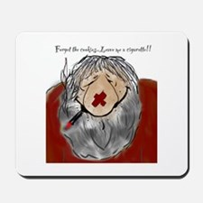 Tired Redneck Santa Mousepad