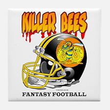 Fantasy Football - Killer Bees Tile Coaster