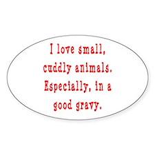 Cuddly Gravy Decal