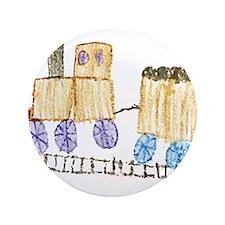 """Choo Choo Train by Madilynn 3.5"""" Button"""