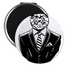 """Business Cat 2.25"""" Magnet (100 pack)"""