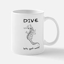 Dive - Lets Get Wet Mug