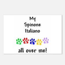Spinone Italiano Walks Postcards (Package of 8)