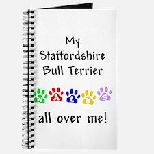 Staffordshire Bull Terrier Walks Journal
