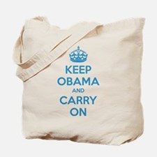 Keep obama and carry on Tote Bag