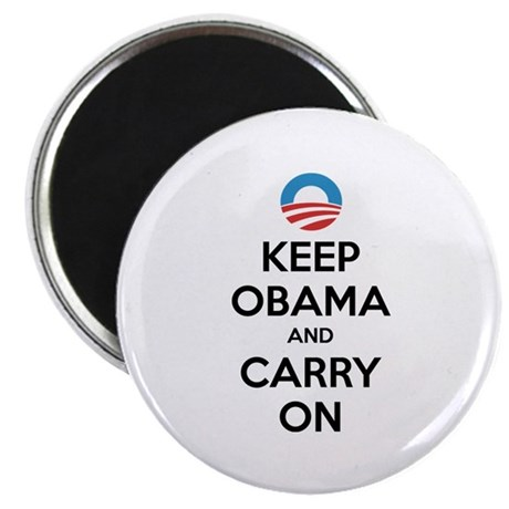 "Keep obama and carry on 2.25"" Magnet (100 pack)"