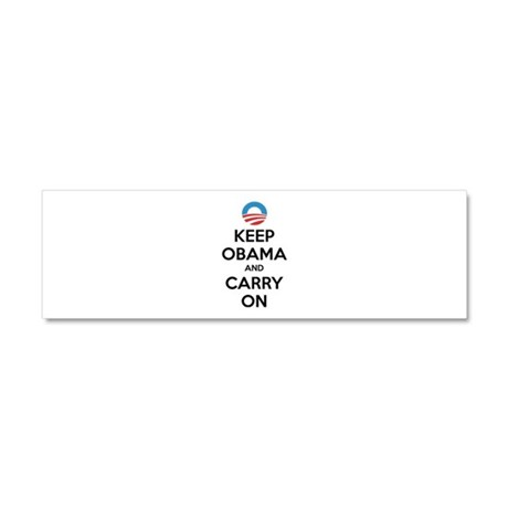 Keep obama and carry on Car Magnet 10 x 3