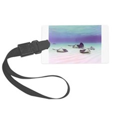 Stingrays - small poster.jpg Luggage Tag