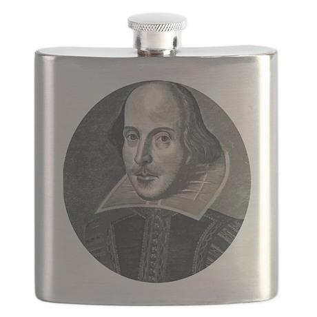 Wm Shakespeare Flask