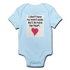 mom's heart infant bodysuit