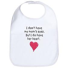 mom's heart bib