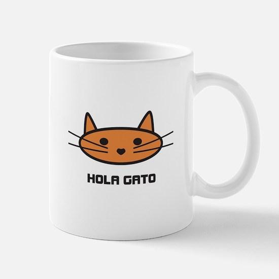 hola gato mug
