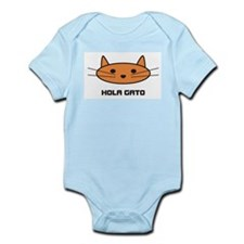 hola gato infant bodysuit