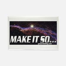 Make it so... Rectangle Magnet