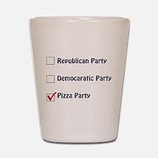 Political Parties Shot Glass