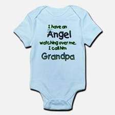 I HAVE AN ANGEL GRANDPA.png Onesie