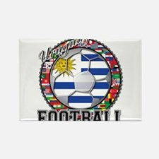 Uruguay Flag World Cup Football Ball with World Fl