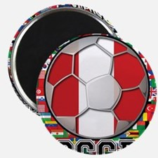 Peru Flag World Cup Soccer Ball with World Flags 2