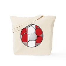 Peru Flag World Cup Futbol Soccer Football Ball To