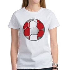 Peru Flag World Cup Futbol Soccer Football Ball Wo