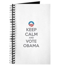 Keep calm and vote obama Journal