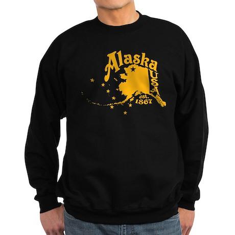 ALASKA 1867 GOLD Sweatshirt (dark)