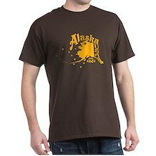 ALASKA 1867 GOLD T-Shirt