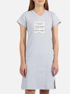 L'amour Sans Visage Women's Nightshirt