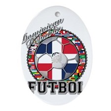 Dominican Republic Flag World Cup Futbol Ball with