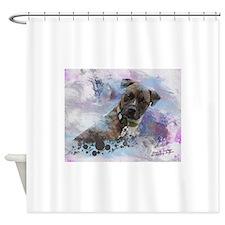 Hawkeye-Fine Art Shower Curtain