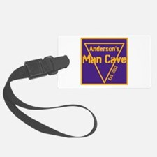 Personalized Man Cave Luggage Tag