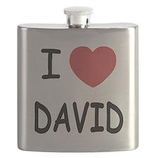 i heart david Flask