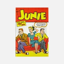 Junie #7 Rectangle Magnet