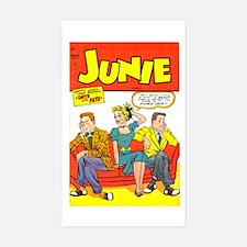 Junie #7 Sticker (Rectangle)