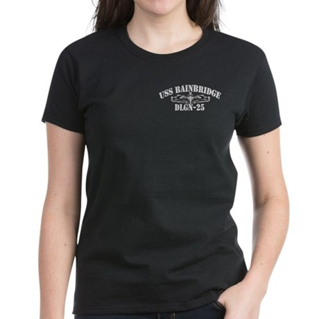 USS BAINBRIDGE Women's Dark T-Shirt