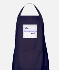 Je ne comprends rien... Apron (dark)
