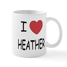 i heart heather Mug